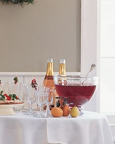 Cranberry, Tangerine, and Pomegranate Punch - Martha Stewart Recipes