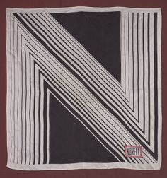 """Normal Norell (American, 1900-1972), """"Scarf,"""" about 1970; Indianapolis Museum of Art, Gift of Terry Jones, 2009.318; © Norman Norell"""