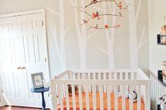 Project Nursery - Woodland Nursery with DIY Bird Mobile - Project Nursery