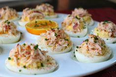 Food wishes crab stuffed deviled eggs