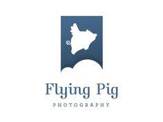 flying pigs, pig photo, fli pig, photo logo