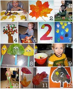 Fall time preschool ideas