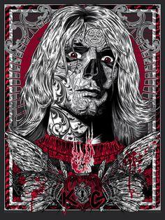 Kurt Cobain - Rhys Cooper - ''Bad 2the Bonez Series - Fallen Angel'' ----