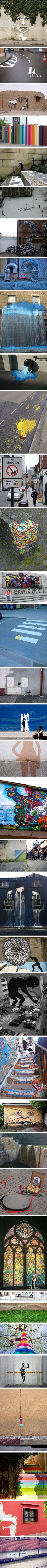 70 amazing examples of Street Art