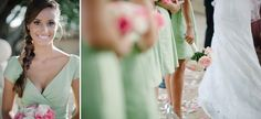 Pale Pink and Mint Green Wedding
