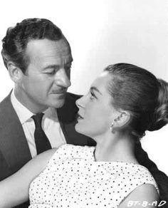 David Niven and Deborah Kerr