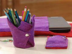 Manualidades y Artesanías | Set para escritorio | Utilisima.com