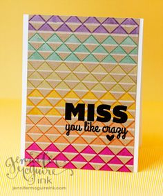 Layered White   Color Ink on Kraft – MFT Release Rewind