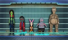 Bob's Burgers/Guardians Of The Galaxy Mash-up