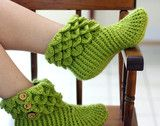 Crocodile Boots (Adult) $5 pattern