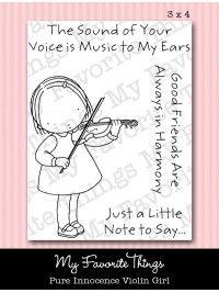 Pure Innocence Violin Girl