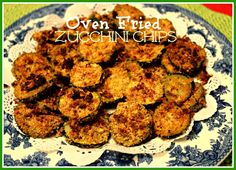 Sweet Tea and Cornbread: Oven Fried Zucchini Chips!