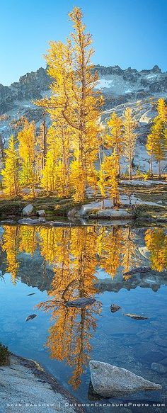 Enchantments Wilderness, Washington  -- by Sean Bagshaw