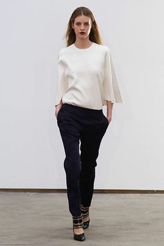 Derek Lam Fall 2013: clean and sophisticated