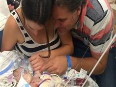 Parents of ailing infant pay it forward to help other families in need