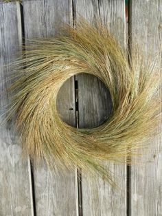 wheat wreath | refresheddesigns.sustainable design