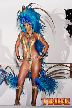 Trinidad Carnival Costumes Designed By Anya Ayoung Chee.