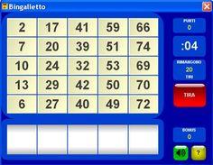 Bingalletto: gioco matematico per la scuola primaria