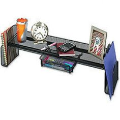Surface Shelf Pull-Out Drawer Desktop Organization Office Storage