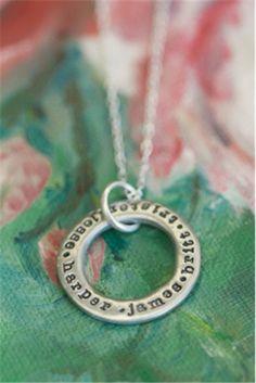 open circle necklace | Lisa Leonard Designs