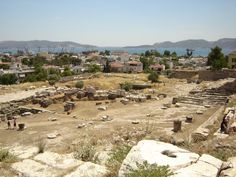 The investigation into the mutilation of the herms led to the discovery of a series of unrelated offenses: the profanation of the Eleusinian Mysteries. Pictured is an excavation site at Eleusis, some 20 miles northwest of Athens.