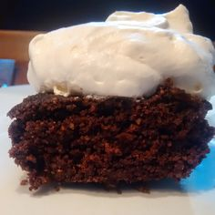 The Coffee Shop: Chocolate Cake with Whipped cream - THM S