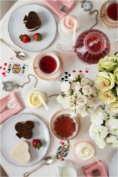 Queen of Hearts tea party