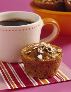 Multi-Grain Apricot Oat Muffins - Recipe | http://www.quakeroats.com/