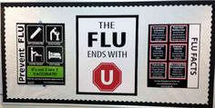 Flu bulletin board