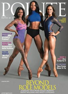 Misty Copeland, Ashely Murphy, Ebony Williams, #BlackBallerinas #ballet #dance