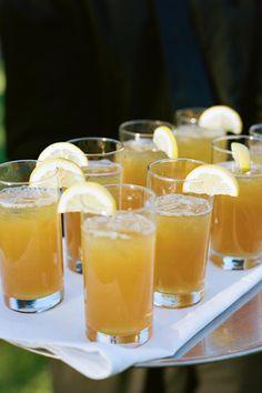 yummy drinks | photo by Q Weddings