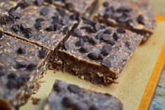 No-Bake Cocoa Bars - Gluten-Free on a Shoestring