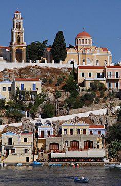 Symi, Greece by Andreas Ganatsios