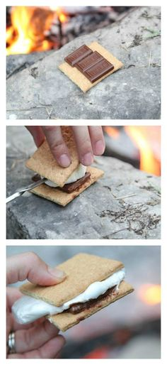Making S'mores this weekend?  See my tips for making the perfect s'mores! | 5DollarDinners.com