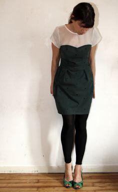 Macaron dress // colette patterns