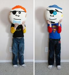 Ruffles and Stuff's monster pillows tutorial for boys...cool- has tut