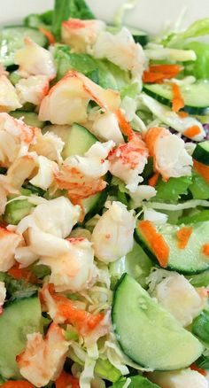 Lobster Salad with Lemon Dressing