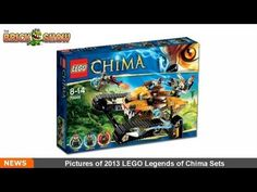 Pictures of 2013 LEGO Legends of Chima Sets