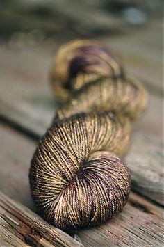 Kelpie Fibers Lotus Sock.This just looks AbFab,like gold shot with purple.....just pretty.