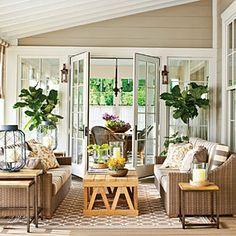 Nashville Idea House Photo Tour | The Back Porch | SouthernLiving.com