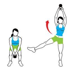 Kettle ball Exercises exercise