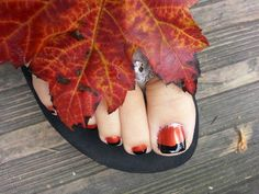 Holiday, fall pedicures