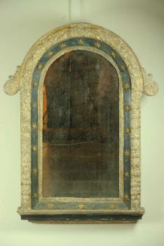 18th century Italian reliquary frame - mirrored