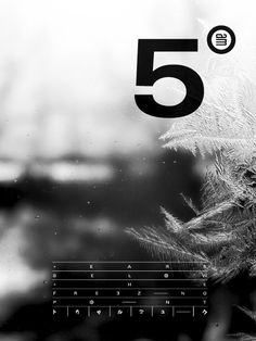 5 Punkte / minimal / BnW / repinned on Toby Designs