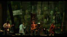 """Lou Reed and his band performing """"Men of Good Fortune"""". #LouReed"""