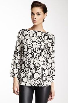 Palermo Cupping Print Top