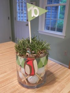 Party Centerpieces - Golf