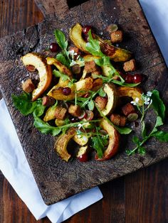 Roasted Squash and Gingerbread Panzanella