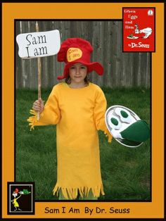 sam i am #costume #halloween #seuss