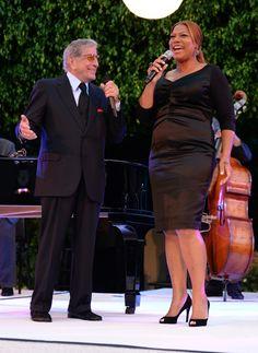 Tony Bennett And Queen Latifah   GRAMMY.com